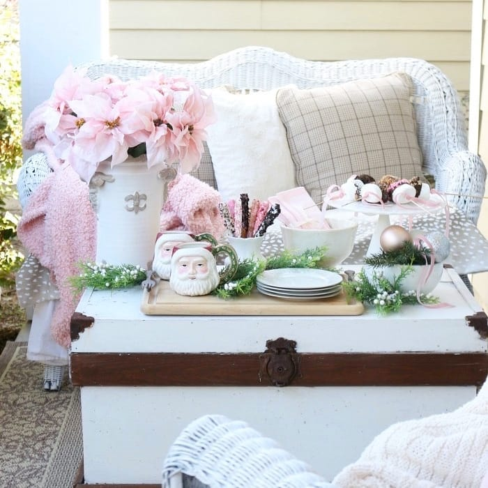 pretty pink decor