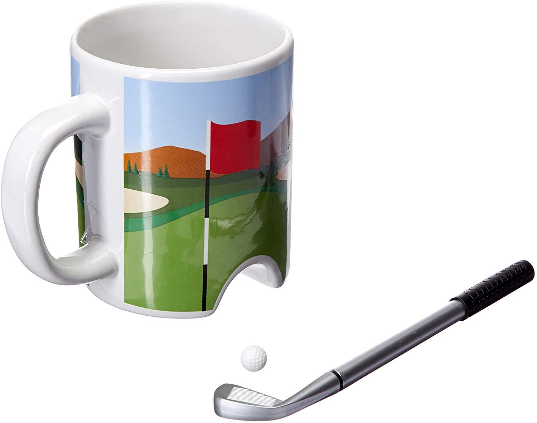 Putter Cup Golf Mug