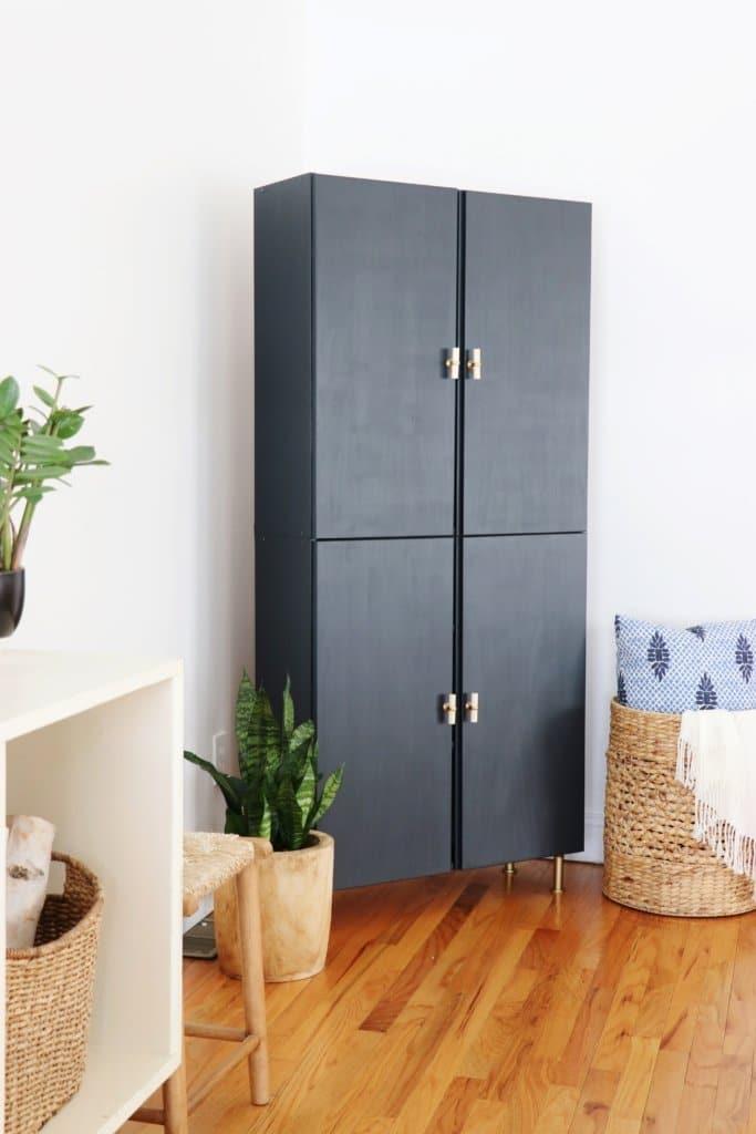 modern gray storage