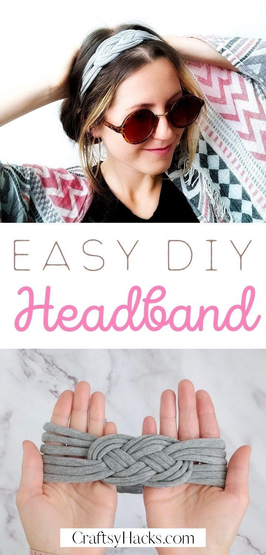 easy DIY headband