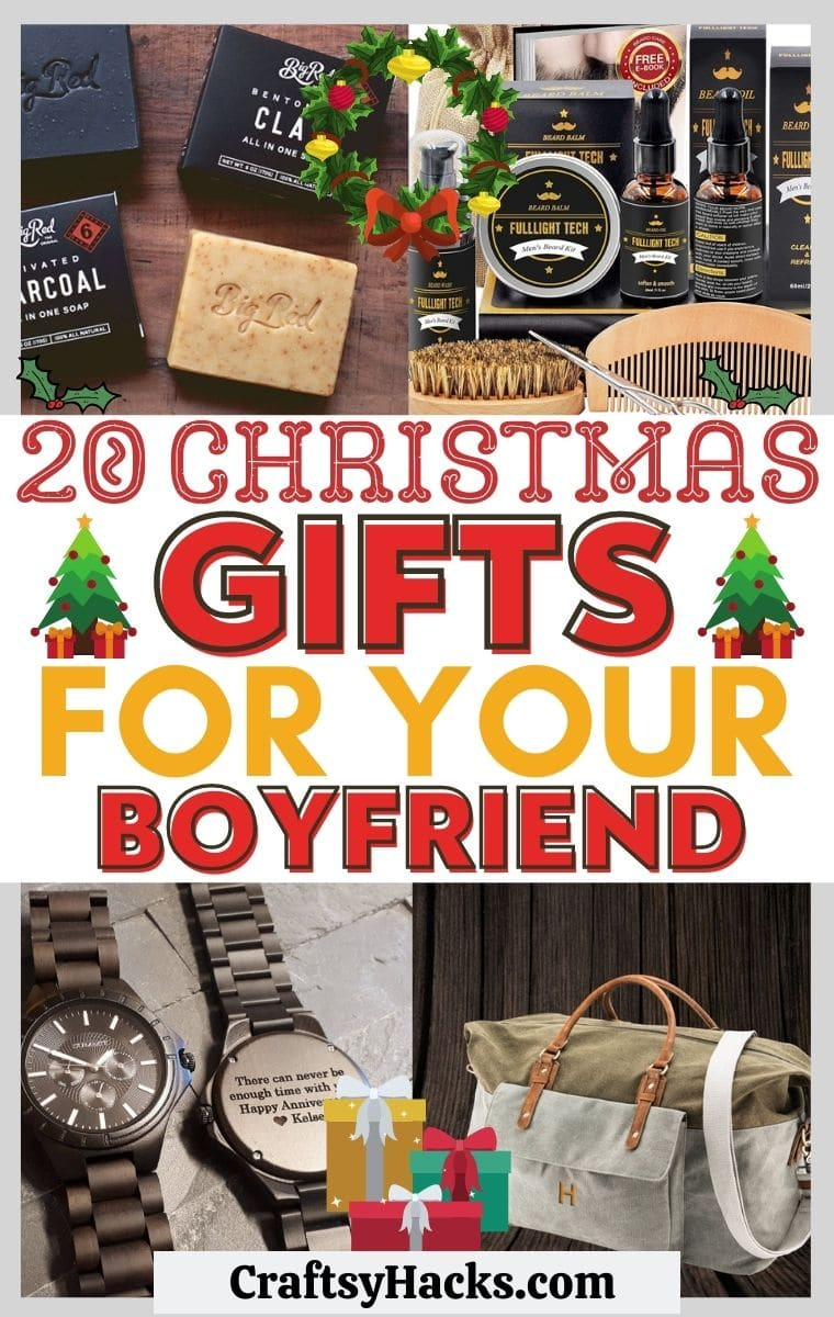20 thoughtful christmas gifts for boyfriend craftsy hacks craftsy hacks