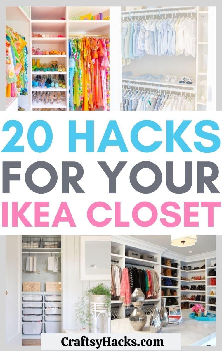 IKEA closet ideas
