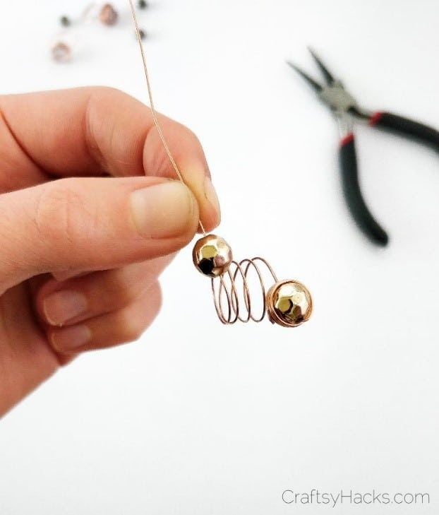2nd bead on wire