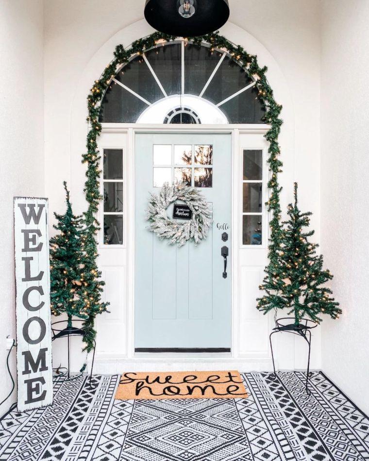 Scandinavian porch