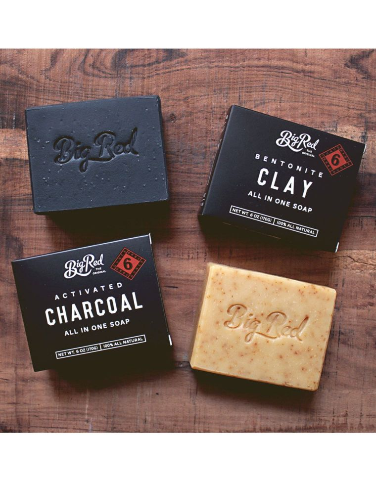 beard and body soap