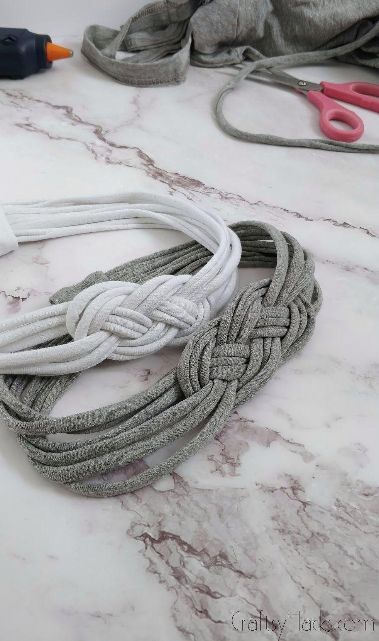 diy headband with supplies