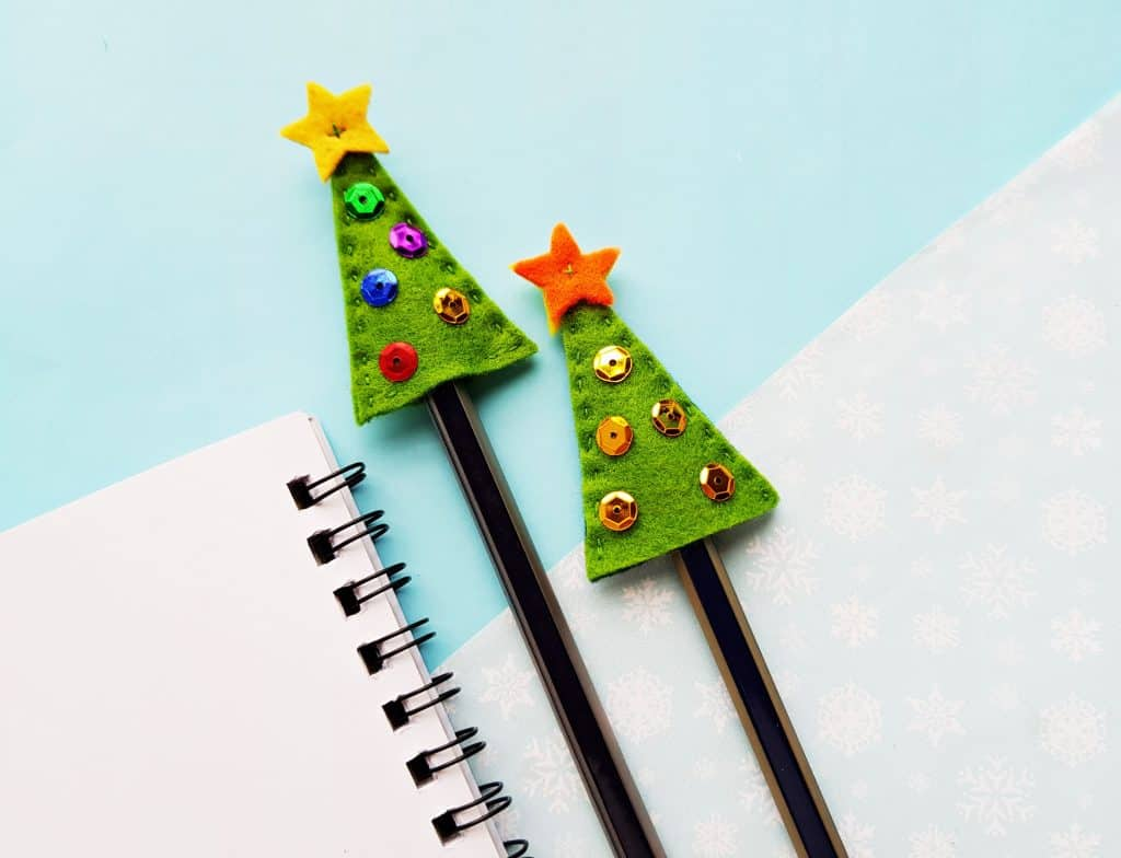 Tree Pencil Toppers