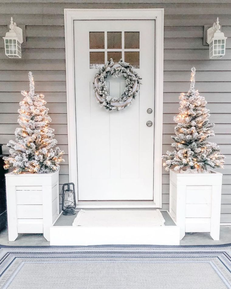 winter wonderland porch