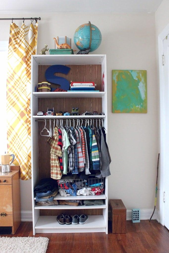 Kids Billy Bookshelf Wardrobe