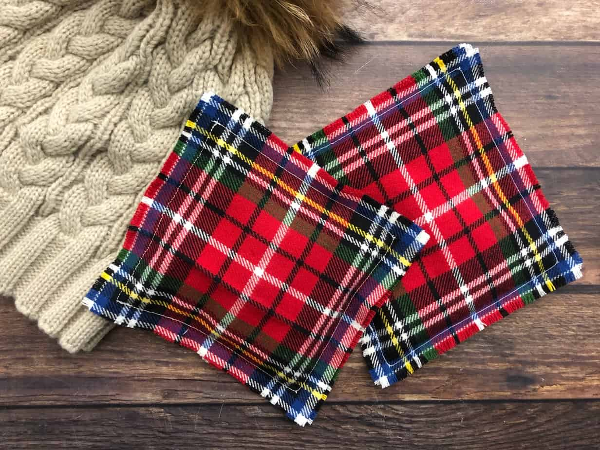 Flannel Rice Hand Warmers