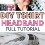 tshirt headband