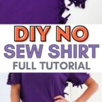 diy no sew shirt