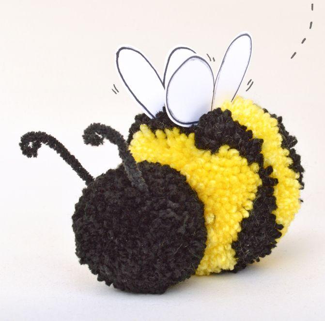 Pom Pom Bumblebee