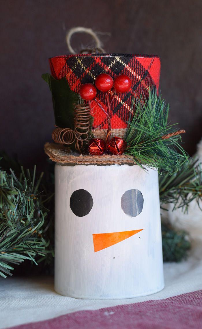 Christmas Snowman Figurine
