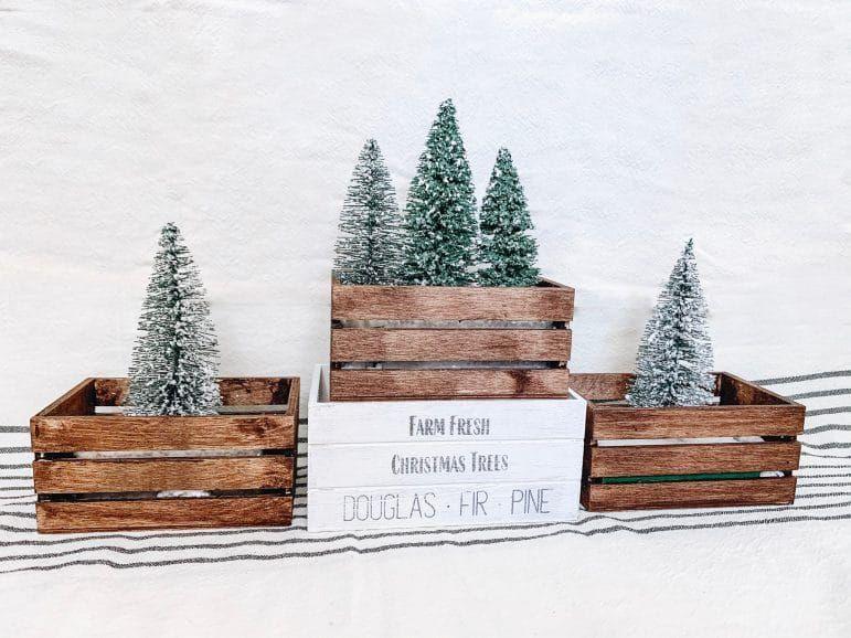 Crate Christmas Scenes