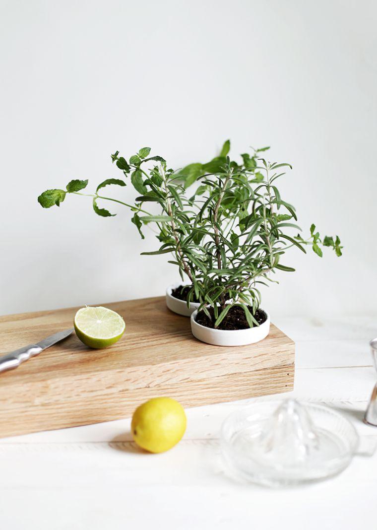 Herb Planter Cutting Board
