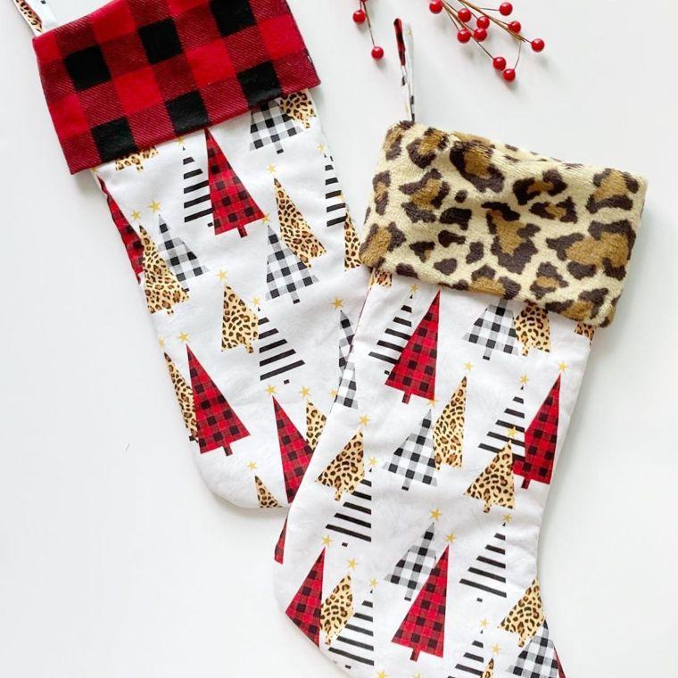 animal print stockings