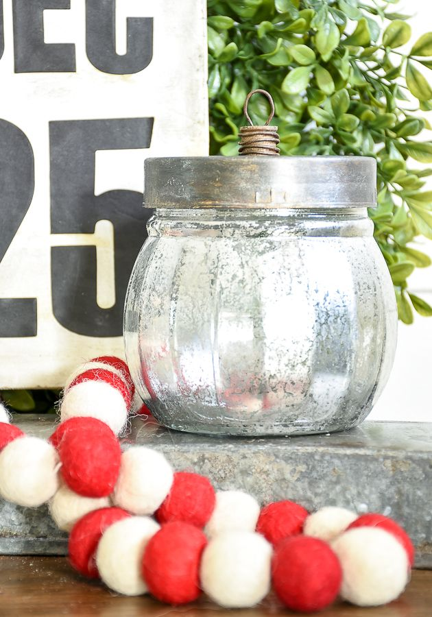 Ornament Candy Jars