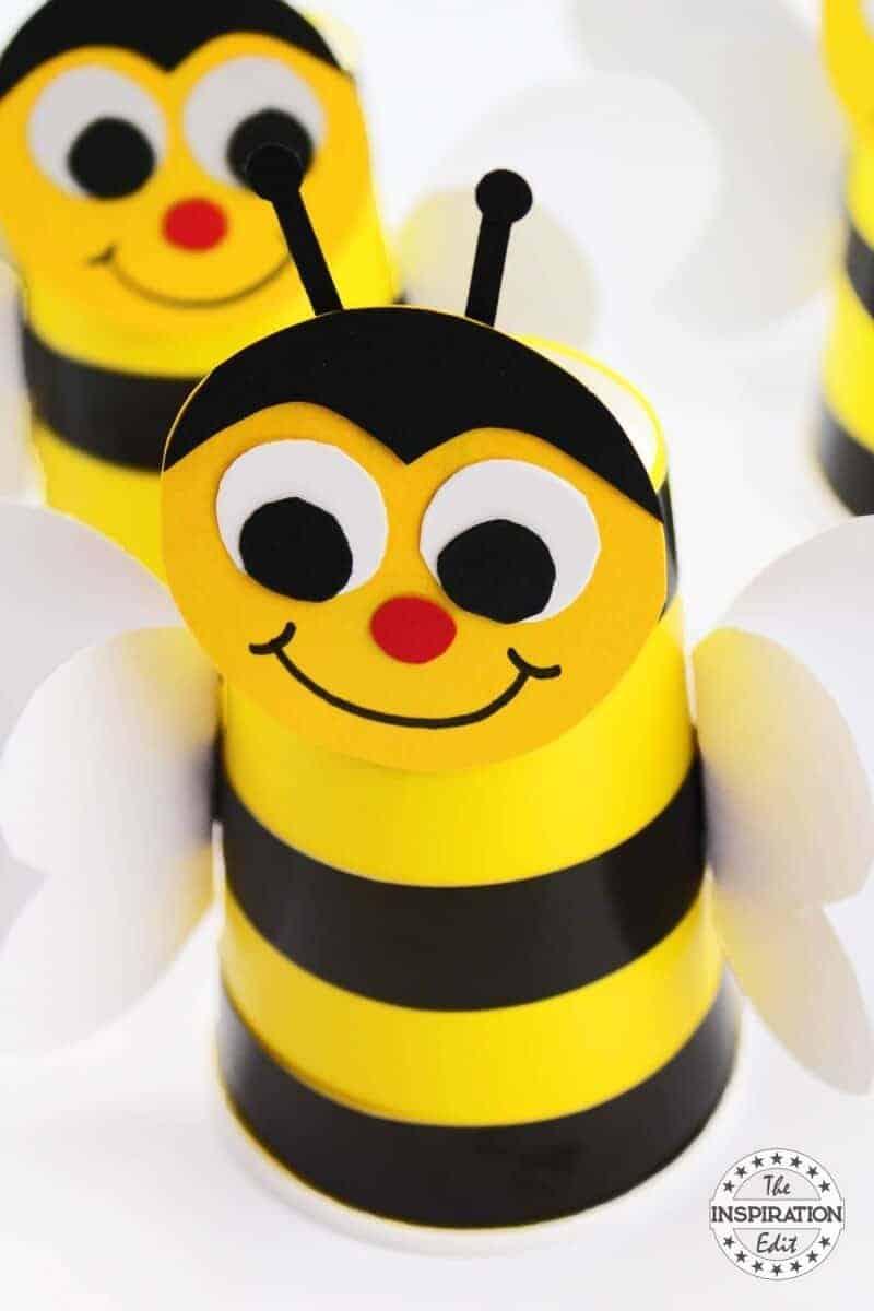 Paper Cup Bumblebee