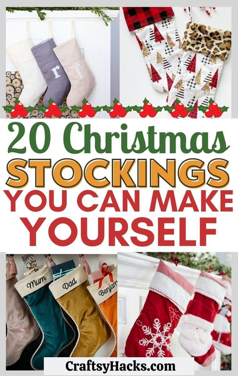 christmas stocking diys