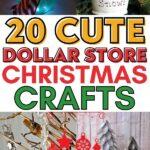 dollar tree christmas crafts