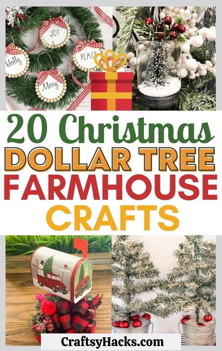 dollar tree farmhouse diy