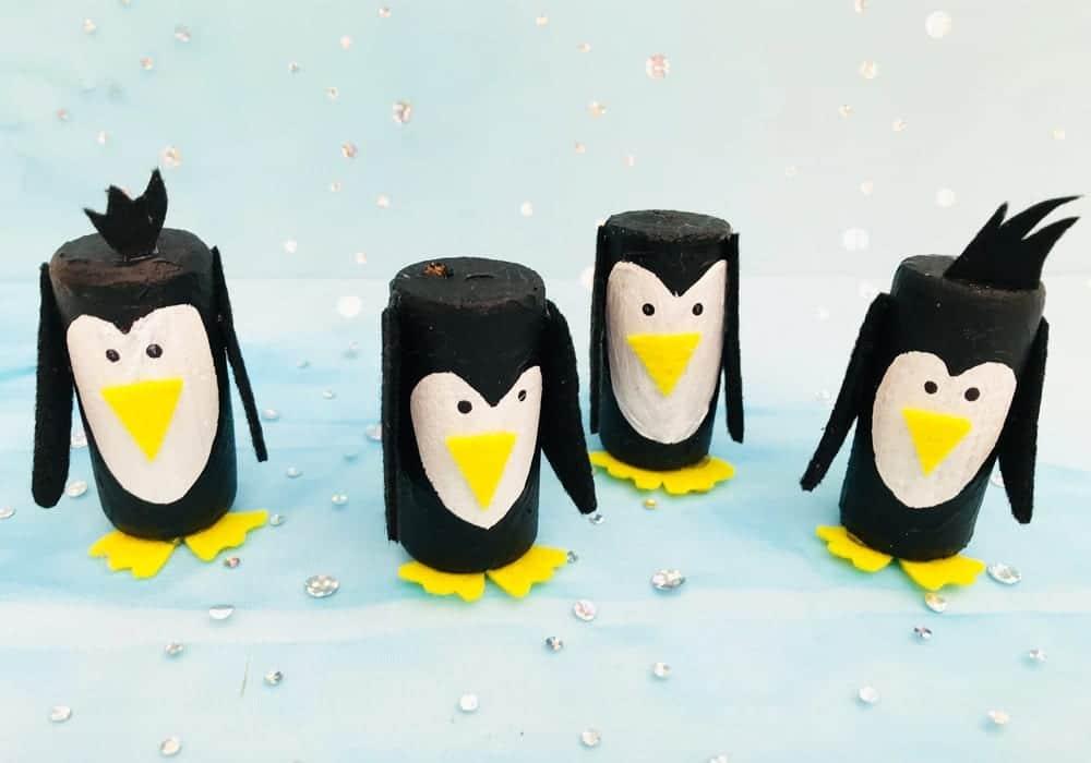Miniature Cork Penguins