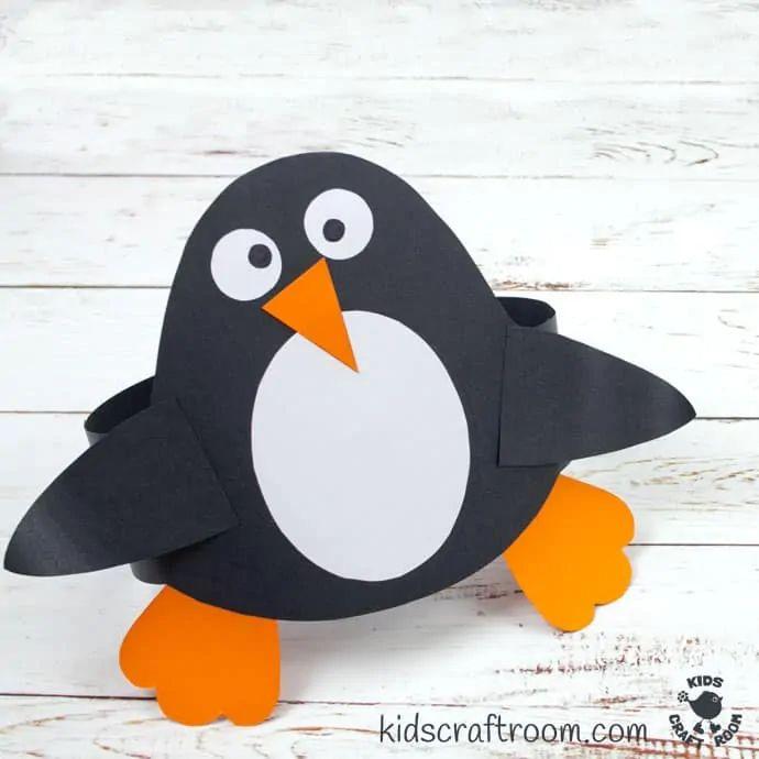 Penguin Hat Craft