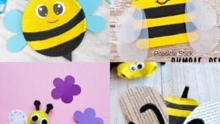 24 Bee Crafts for Kids