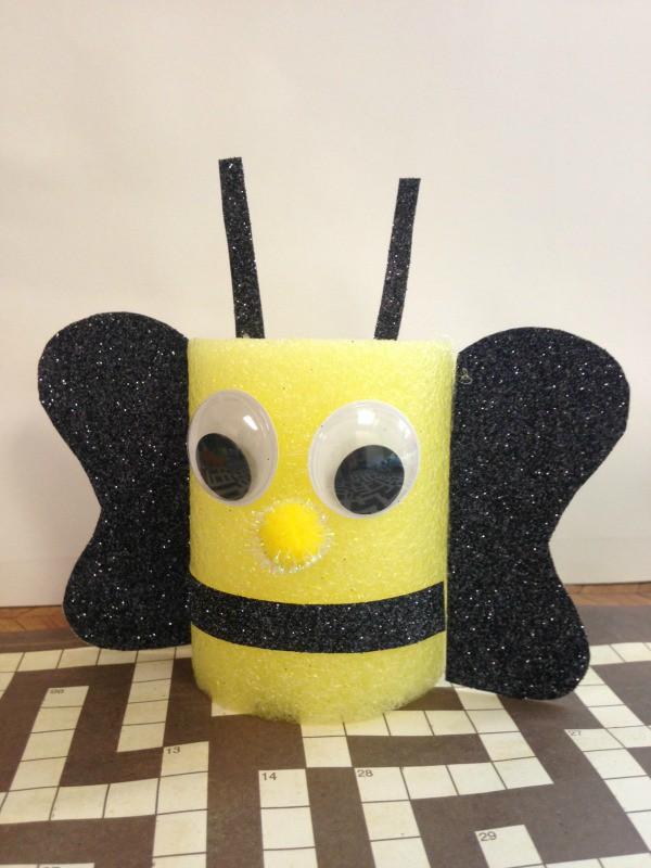 Pool Noodle Bumblebee