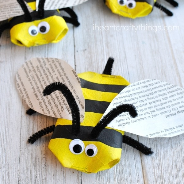 Recycled Bee Craft