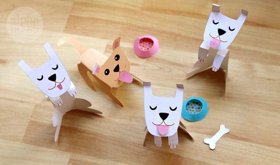 Printable Dog Companions