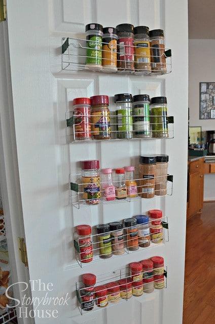 Dollar Store Spice Racks