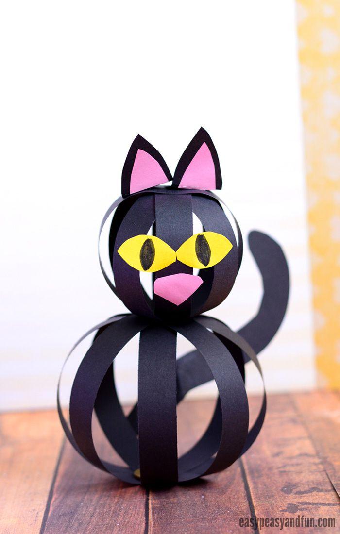 Paper Strip Cat