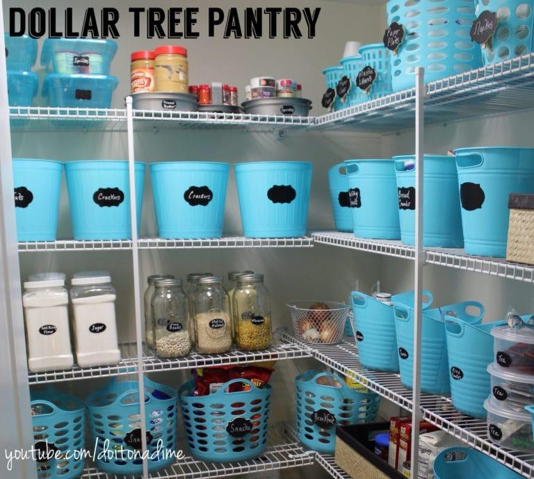 Pantry Organization Baskets