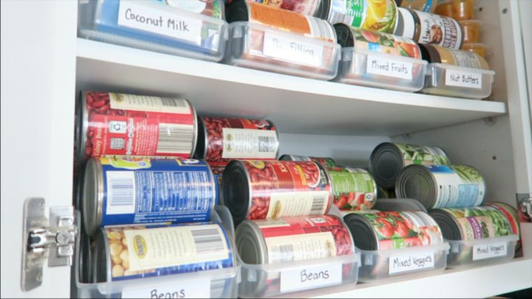 Canned Goods Organization