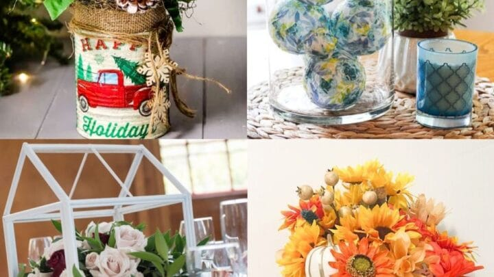 21 DIY Dollar Tree Centerpieces