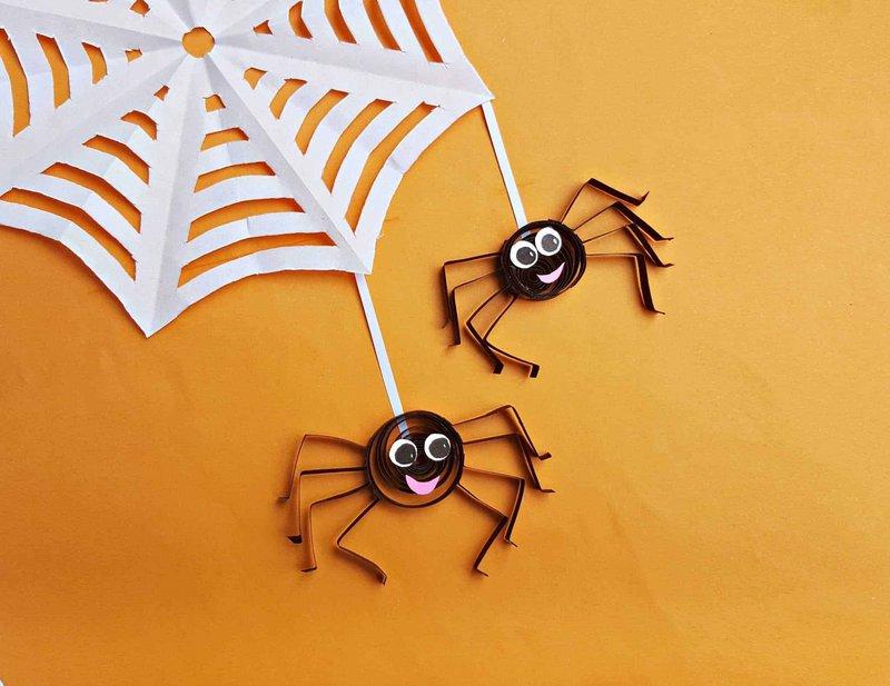 Paper Quilled Spider