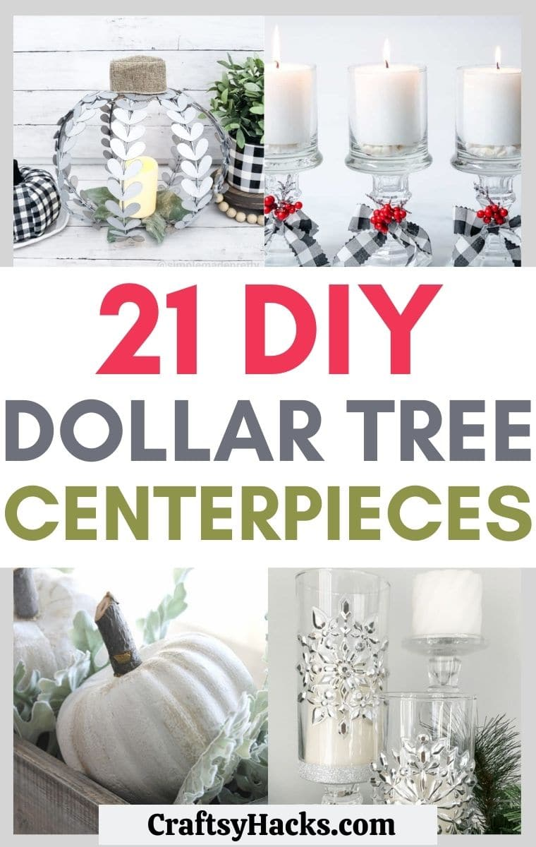 dollar tree centerpieces