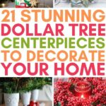 dollar tree centerpiece ideas