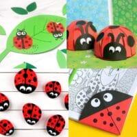ladybug kids crafts