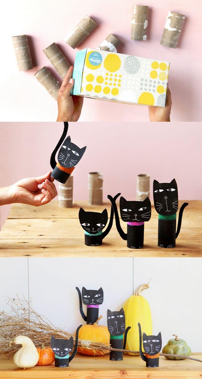Toilet Paper Tube Cat