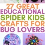 kids spider crafts