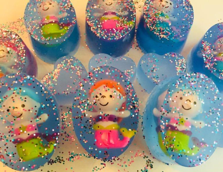 Glitter Mermaid Soap