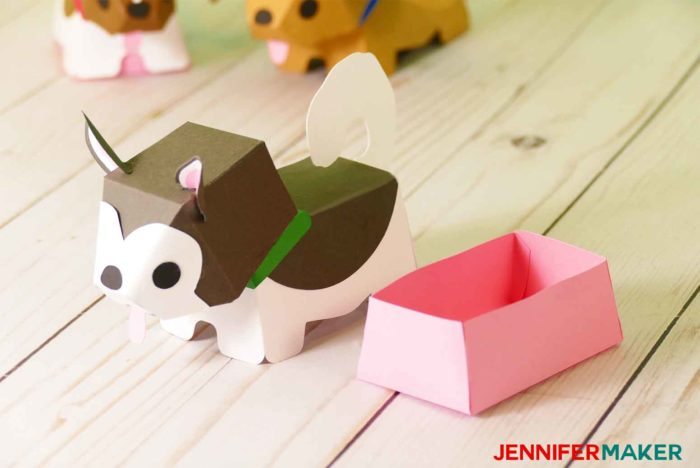 Paper Dog Boxes