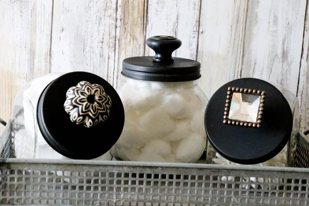 Bathroom Accessories Storage Jars
