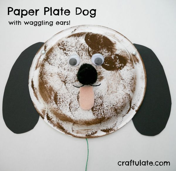 Paper Plate Dog
