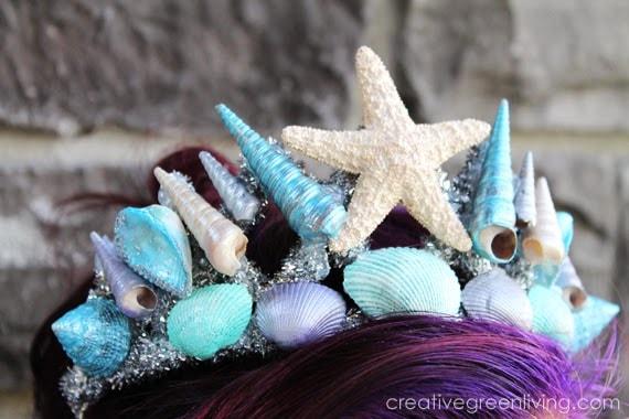 Mermaid Crown with Seashells