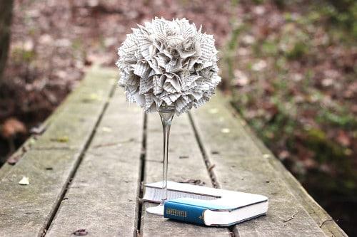 Book Tree Centrepiece