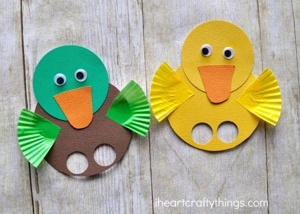 Duck Finger Puppets